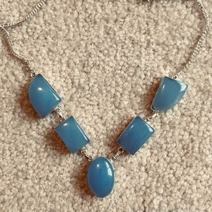 Jewelry - New chalcedony Sterling Silver 925 Necklace